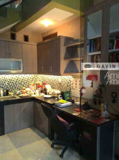kitchen set bsd bu ami