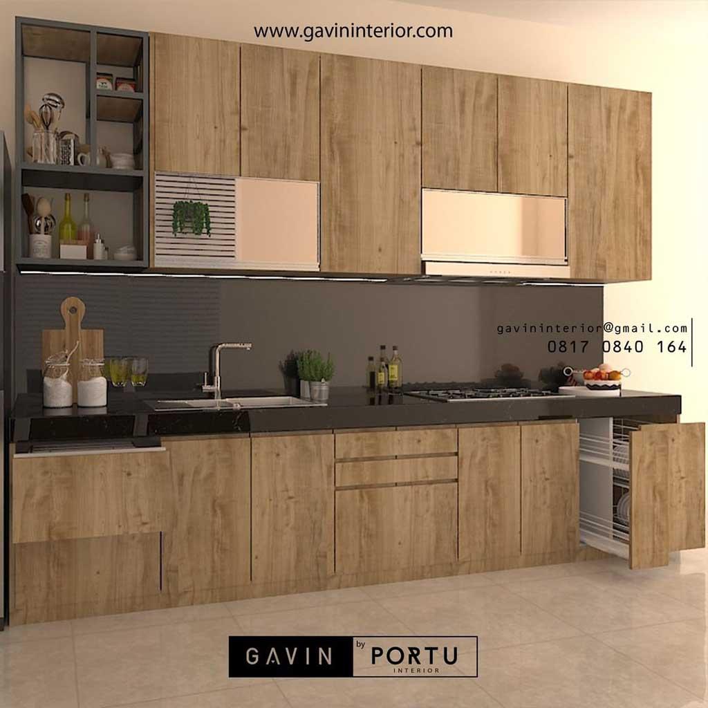 Kitchen Set UPVC Tahan Air Dan Bebas Rayap ID3330