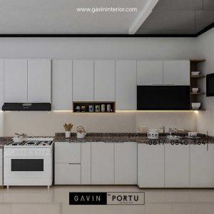 Bikin Kitchen Set Warna Putih Jasmine Residence Tanjung Barat Jagakarsa Jakarta Id4659T