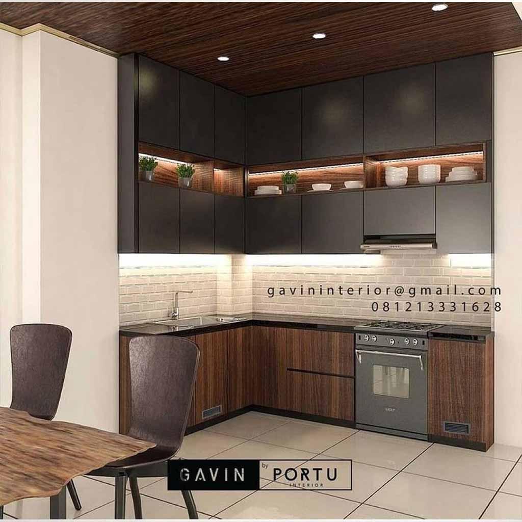 kitchen Cabinets minimalis terbaru mewah untuk dapur ID4373PT