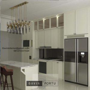 Design Kitchen Set American Style Putih Kompleks Dep Pertanian Pejaten Pasar Minggu Id4479