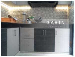 contoh kitchen set minimalis modern