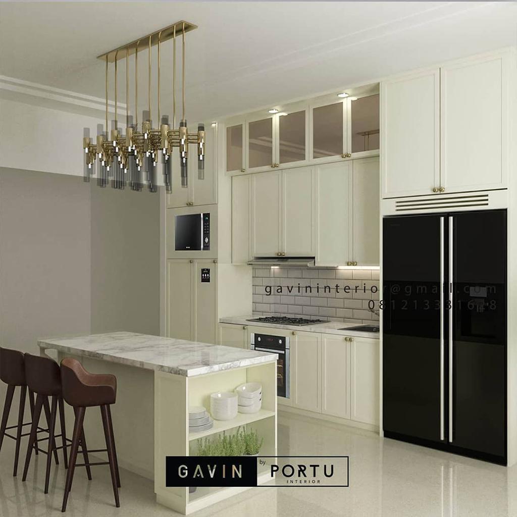 Jasa Bikin Kitchen Set Kualitas Terbaik ID4479