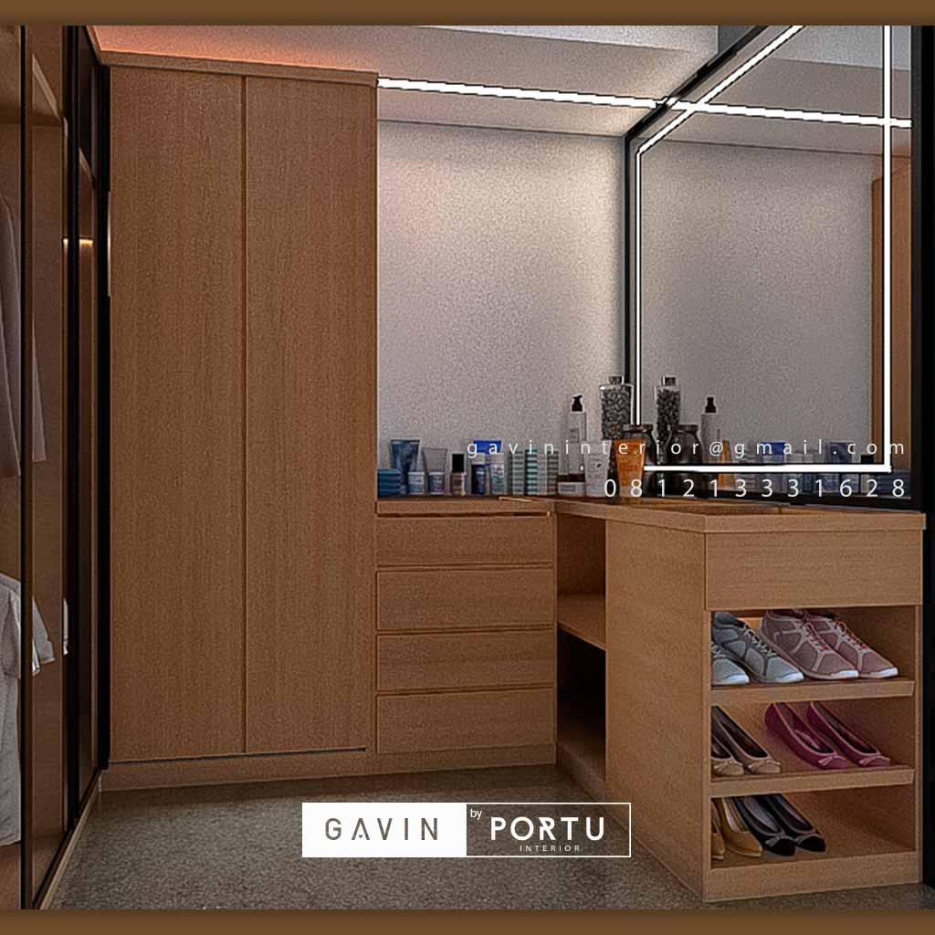 Design Walk In Closet Minimalis Modern ID4698T
